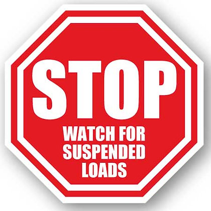 DuraStripe - Stop Signs / Stop Watch for Suspended Loads