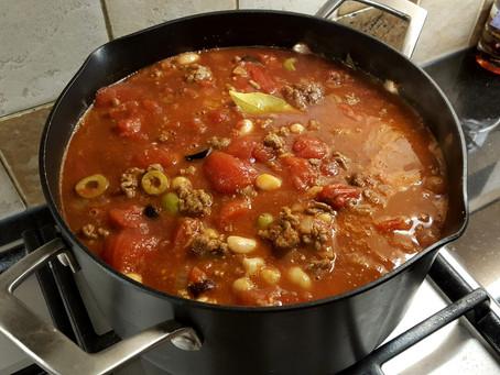 Moroccan  Chili con Carne