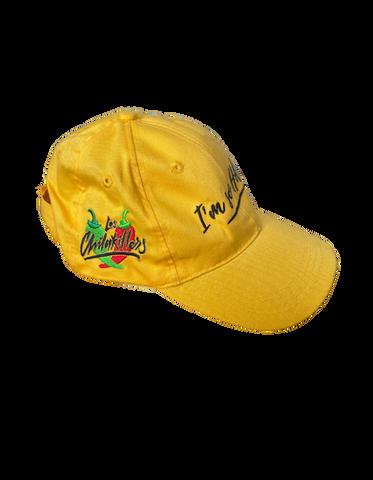 #ImsoHot Yellow Hat  (Side View)