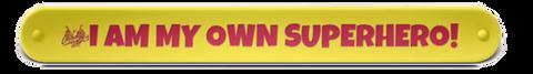 #IamMyOwnSuperhero Slap Wristband for Kids - $12.00