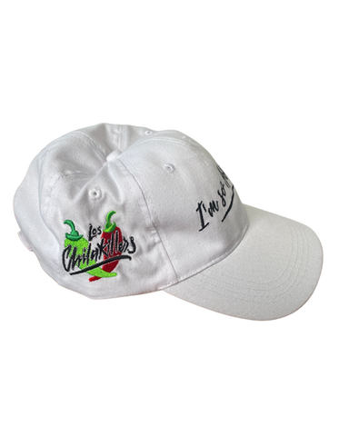 #ImsoHot - White Hat (Side View)