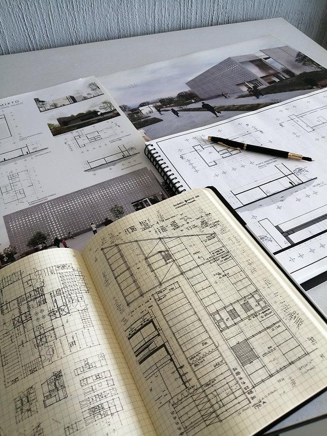 Bocetos JM Arquitectos