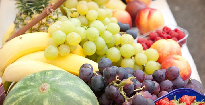 ... und paradiesische Früchte.