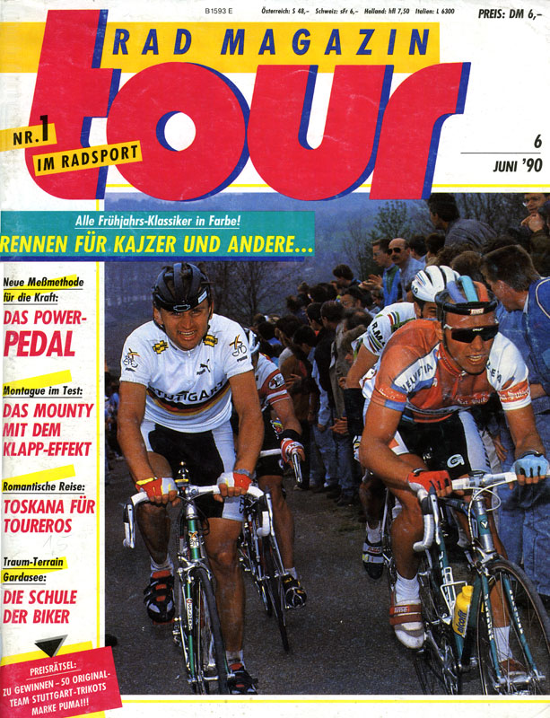Titel: Rad Magazin TOUR