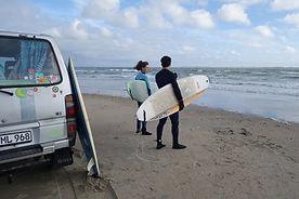 Surfer auf Römö