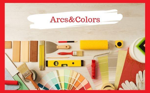 como pintar tu casa, Arcs and Colors
