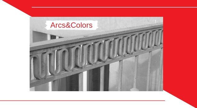 pintar barandilla hierro, Arcs and Colors