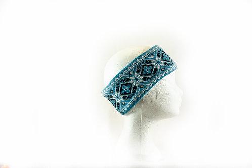 Haarband met wintermotief