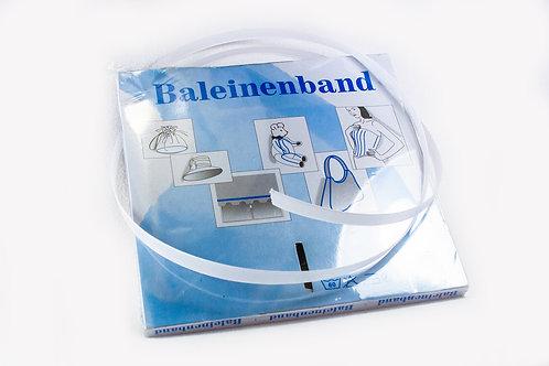 Baleinenband white 12mm
