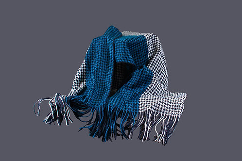 Elegante brede sjaal