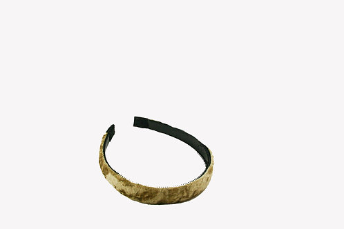 Haarband met fluweel 2cm