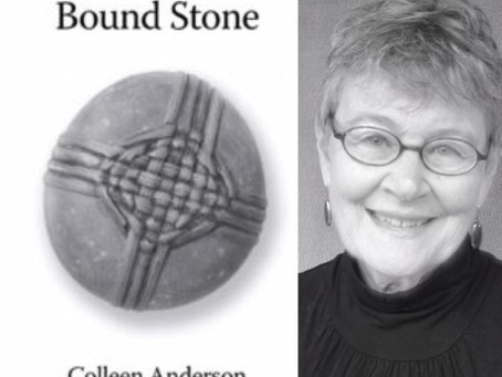 Poems that Confide, Poems that Shimmer.  Review of Bound Stone and Bearing Witness