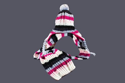 Heerlijke muts met sjaal