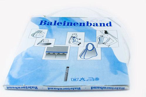 Baleinenband white 6mm