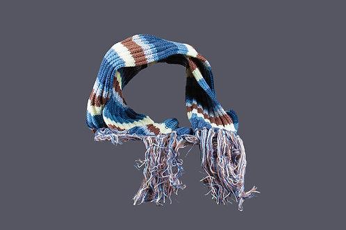 Warme gestreepte sjaal