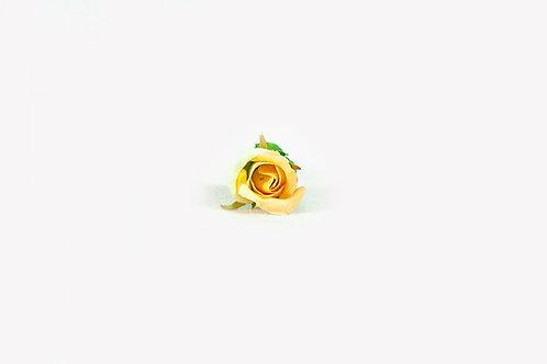 zijde goud gele roos