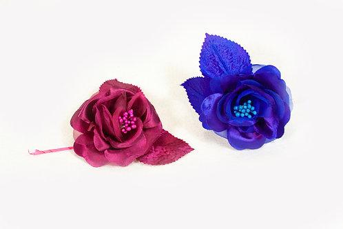 Mooie zijde bloemen
