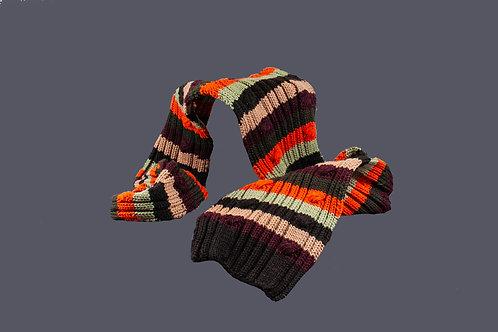 Gestreepte stoere sjaal
