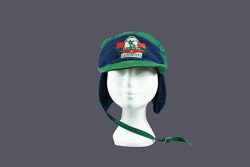 Warme zachte basebal cap met  oorwarmers