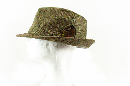 Gentelman tweed hoedje