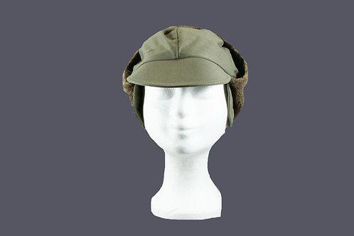 Warme basebal cap met lange oorwarmers