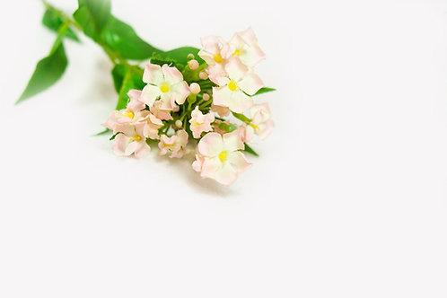 Takje met zachtrose bloemetjes