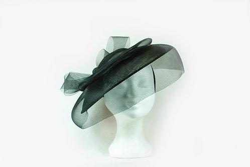 mooi elegant zwart hoedje