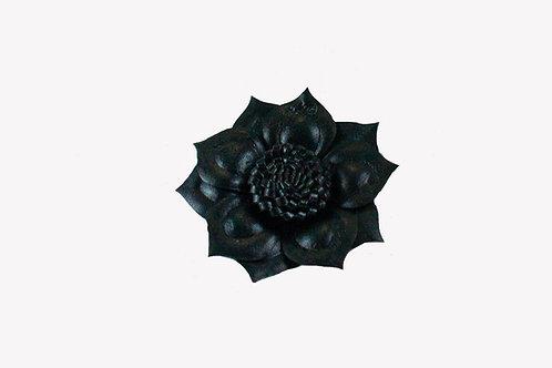 Zwarte leer (look like) roos