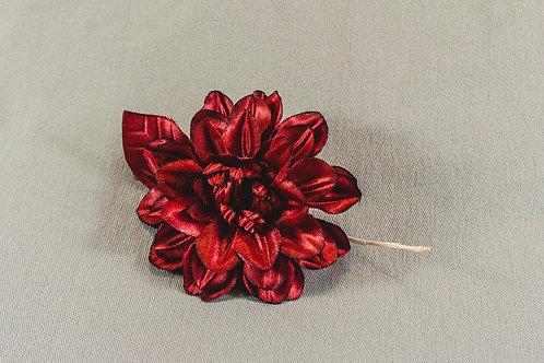 Mooie bordeaux rode bloem