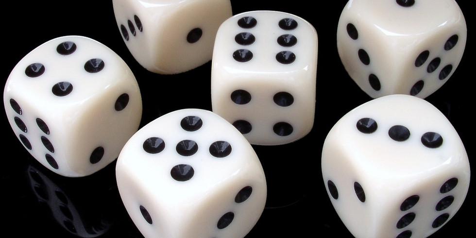 Men's Yahtzee Game Night (Wednesday's at 7PM)