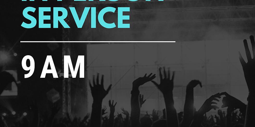 Sunday Service - April 18 (9AM)