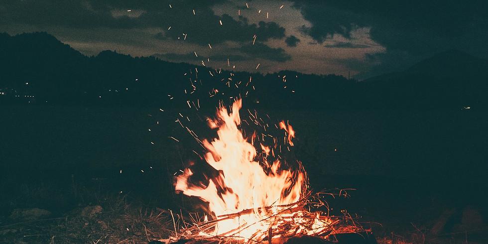 Young Adults Bonfire
