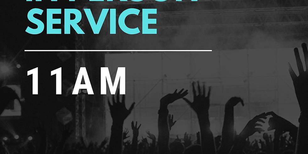 Sunday Service - April 18 (11AM)