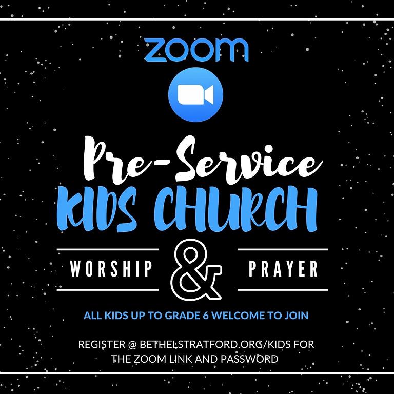 Pre-Service Kids Church