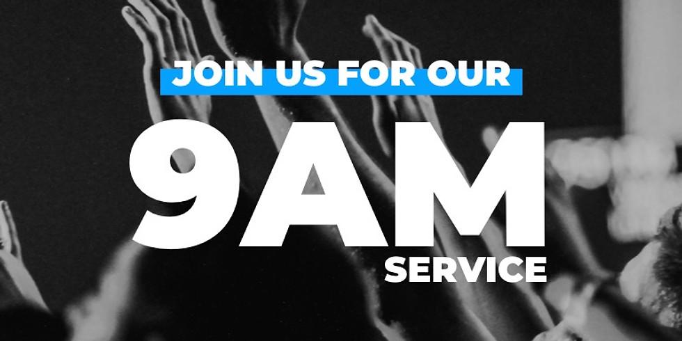 Sunday Service - July 25 (9AM)
