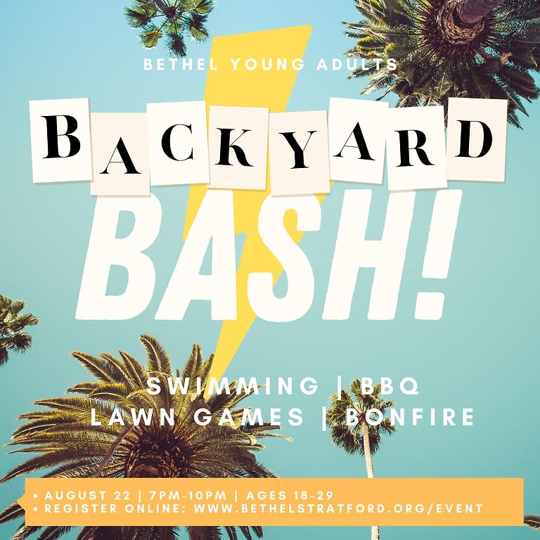 Young Adults Backyard Bash!