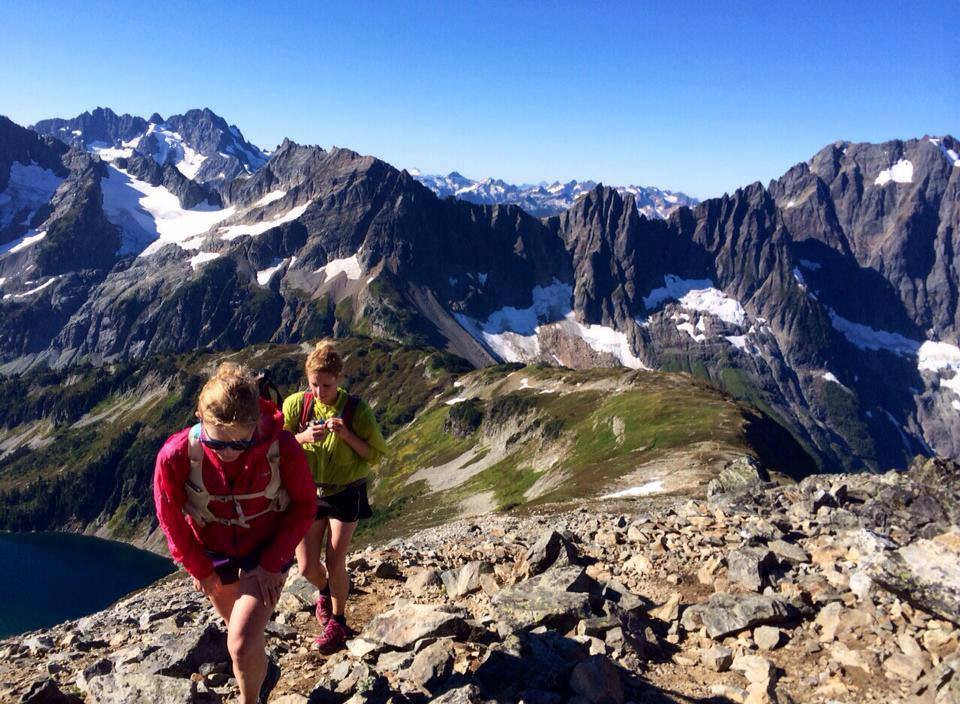 Wasatch 100 ultra course scoping with Sophia Walker