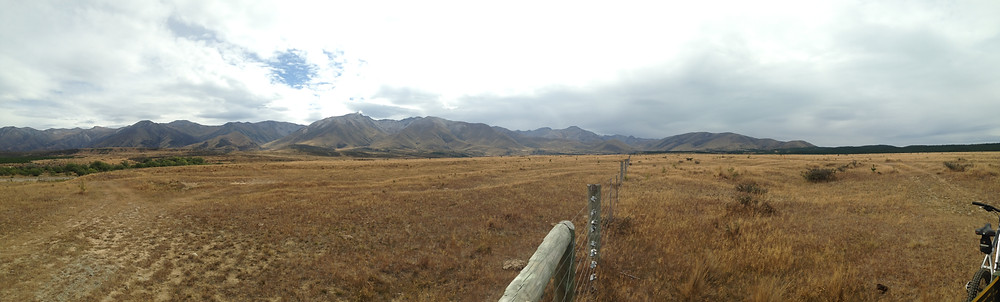 Panorama of the Dusky MTB course