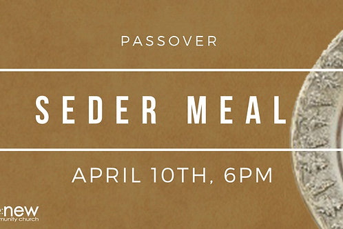 Kid's Meal for Passover Seder