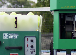 HOW TO USE A BALL MACHINE PROPERLY