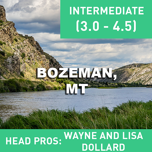 July 30-1st 2021 Bozeman, MT (Flyfishing Add-on)