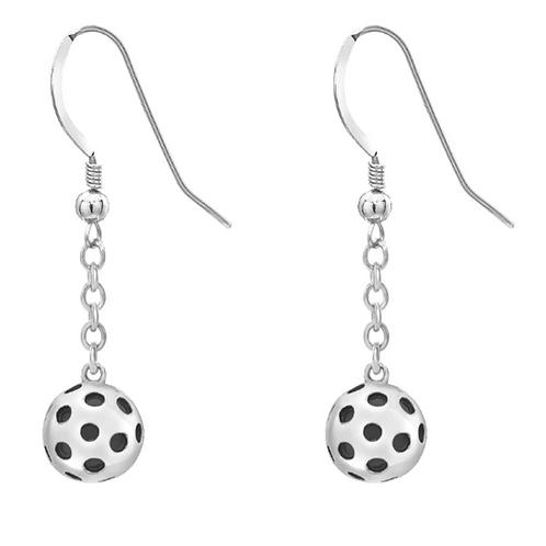 Ball Earrings (Silver)
