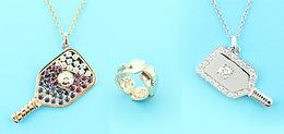 Pickleball Gold Jewelry