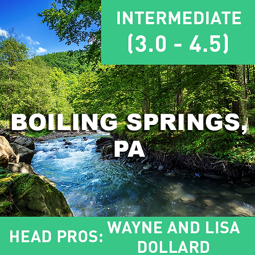 Sept. 3-5th 2021 Boiling Springs, PA (Flyfishing Add-on)