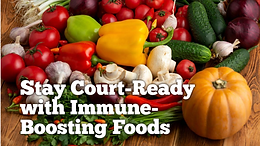 Stay Court-Ready with Immune-Boosting Foods