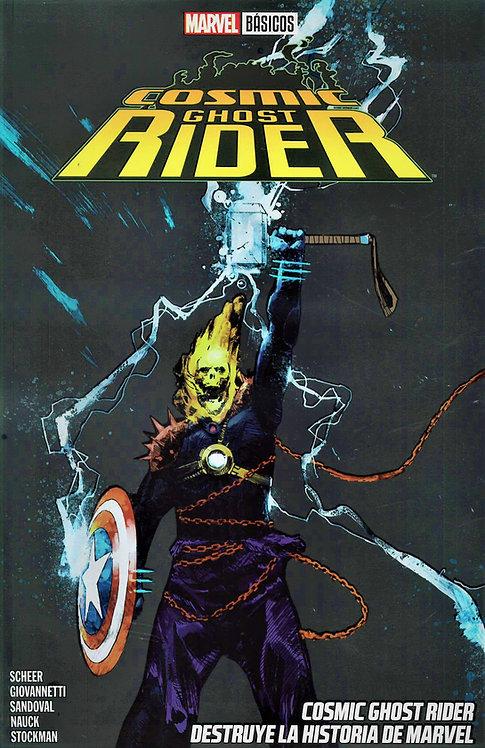 Cosmic Ghost Rider Destruye La Historia De Marvel