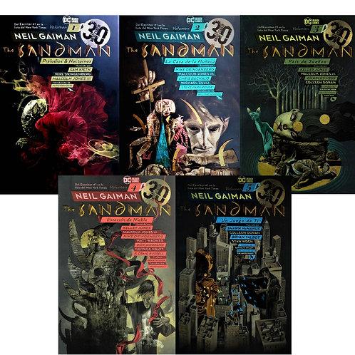 THE SANDMAN 30 ANIVERSARIO VOLUMENES 1, 2, 3, 4 Y 5