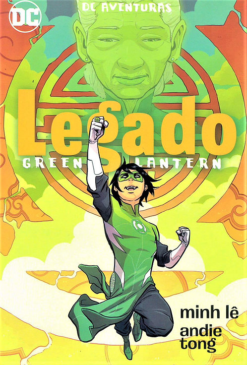 GREEN LANTER LEGADO DC AVENTURAS