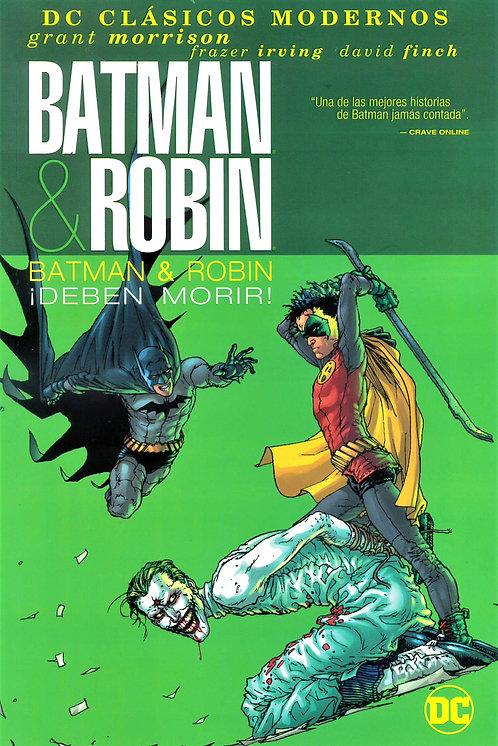 BATMAN & ROBIN ¡DEBEN MORIR!