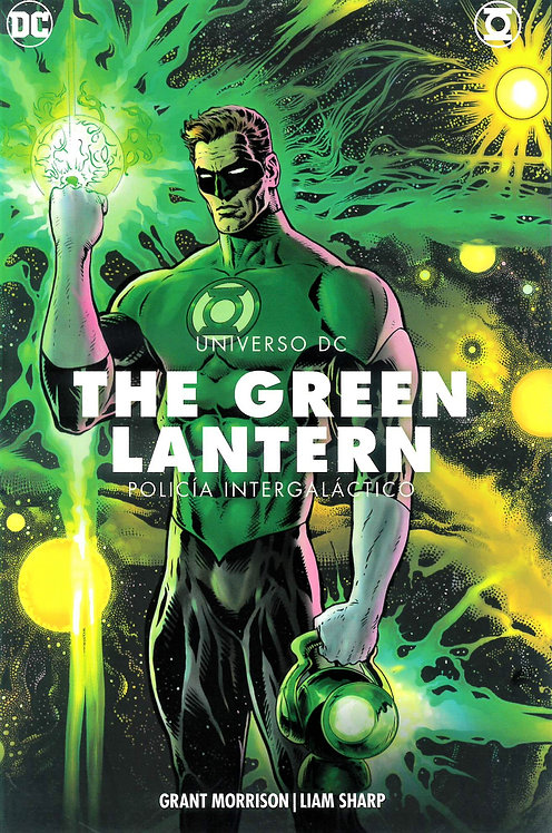 THE GREEN LANTER POLICIA INTERGALACTICO